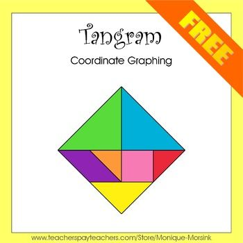 Tangram, Coordinate Graphing, Mystery / Hidden Picture, Ordered Pairs ...