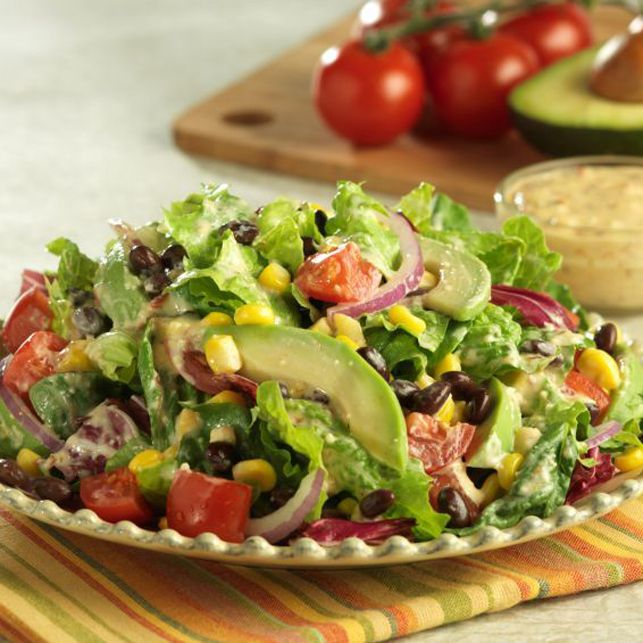 Roasted Corn, Black Bean, and Avocado Salad
