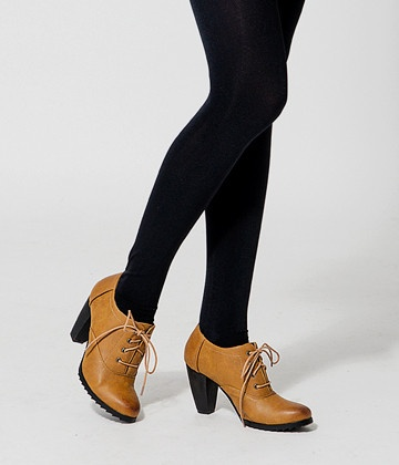 lace up high heel ankle boots  Lace-Up High Heel Ankle Boots