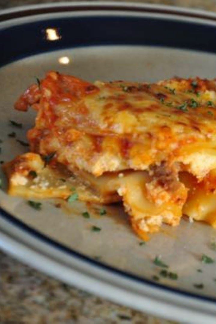 Lasagna Supremo (The Best Lasagna Ever!) | Pasta | Pinterest
