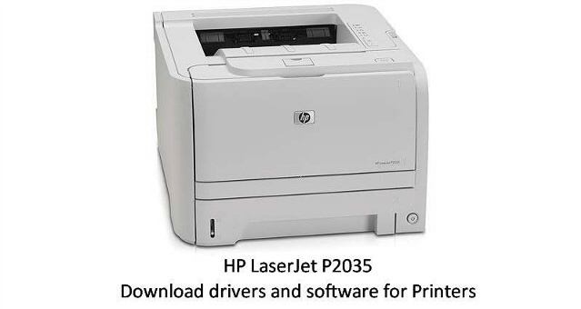 Hp 2035 Winxp Driver Download