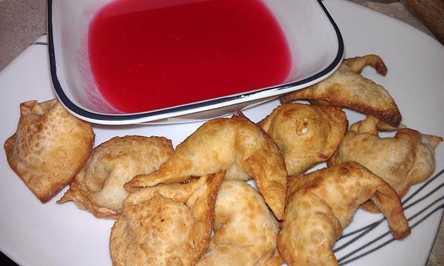 crab rangoon (cream cheese won tons) | recipes | Pinterest