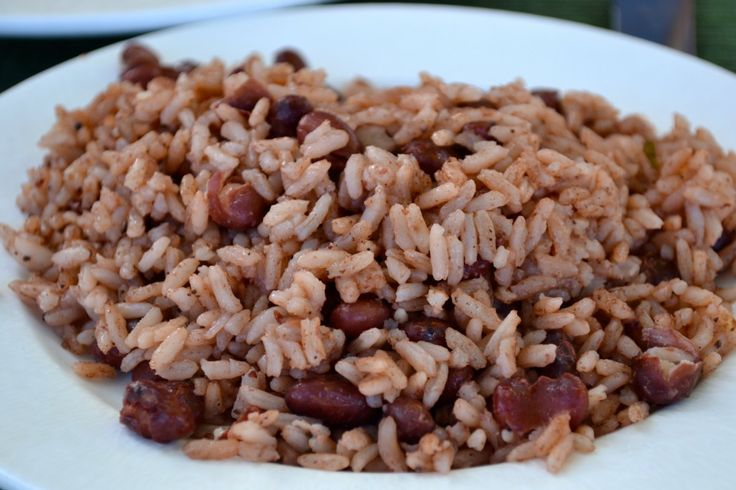 Recipe for Jamaican Rice and Peas | Side Dishes | Pinterest