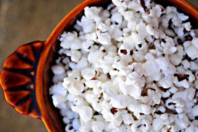 Bacon Popcorn- use maple cured bacon and it tastes like kettle corn ...