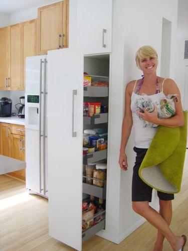 Ikea Pantry Kitchen Pinterest