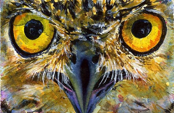 Owl Eyes Paintings Eyes of Owls 18 Painti...