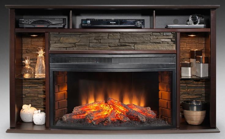 Fireplace Entertainment Unit Fireplace Ideas Pinterest