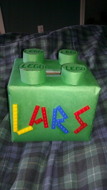 lego valentine's day box homemade