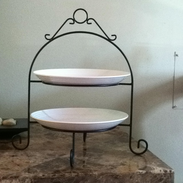 2 Tier Plate Stand Creative Home 73045 3 Tier Dinner