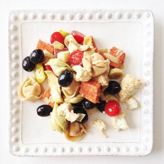 Antipasti pasta salad | Grain | Pinterest