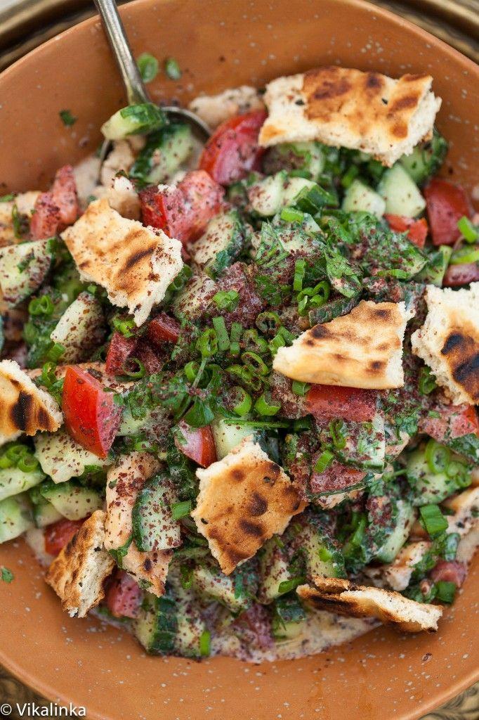 Middle-Eastern Fattoush Salad | Recipe