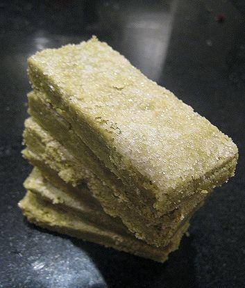 Macha (Japanese Green Tea) Shortbread | MATCHA | Pinterest