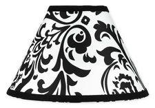 New sweet jojo designs lamp shade for black white isabella baby kid b