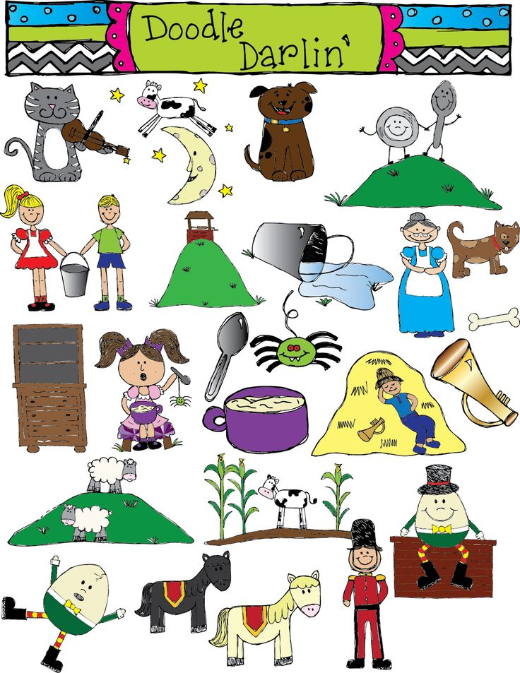 clipart pictures of nursery rhymes - photo #23