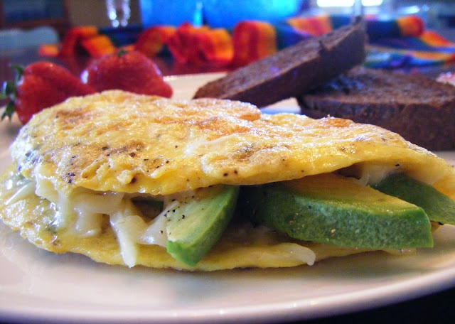Austin Avocado Omelet | Let's Eat: Avocado | Pinterest