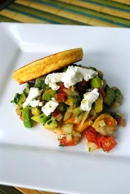 Corn Cakes and Avocado Salsa | Hungry | Pinterest