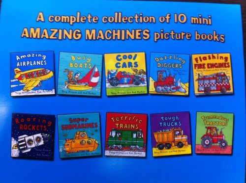 Amazing Machines: Truckload of Fun (10-Book Set): Tony ...