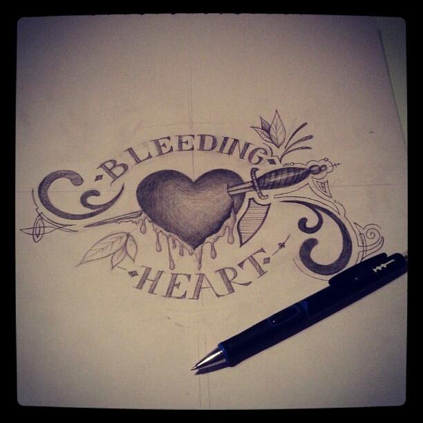 Bleeding Heart Sketch Bleeding Heart Sketch Bleeding