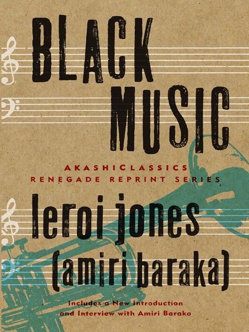 Leroi Jones/Amiri Baraka, Black Music (1968)