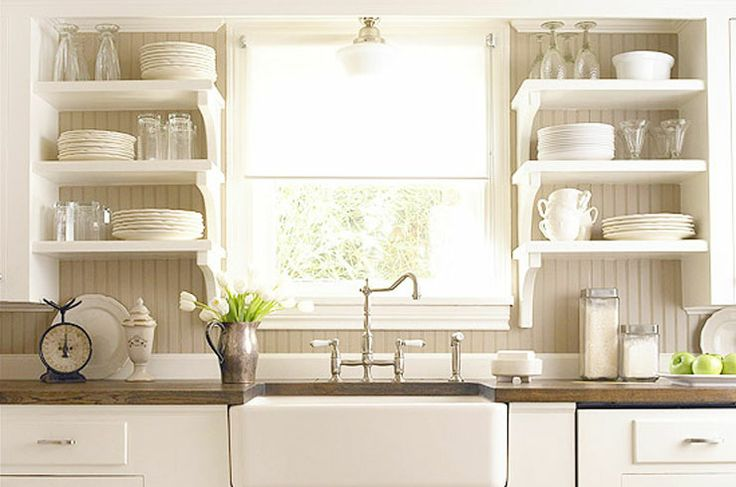 Open Shelf Kitchens