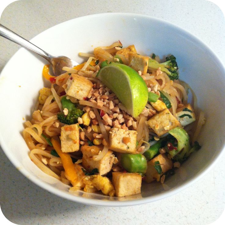 Vegetarian Pad Thai | from my blog | Pinterest