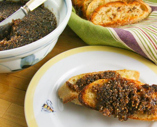 ... + Garlic + Anchovies = Anchoïade Niçoise - Inspired by James Beard