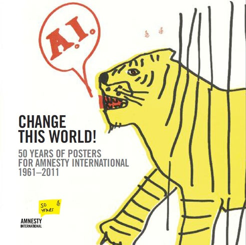 Amnesty international 50 years of posters that inspire social justice