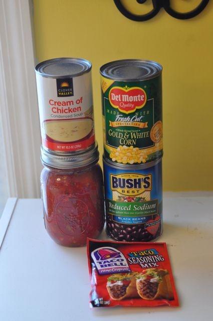 Slow Cooker Fiesta Chicken & Rice | Recipe