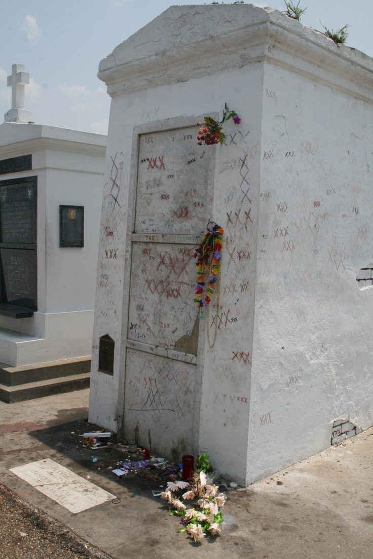 Marie Laveau's grave | The Places I Have Loved | Pinterest