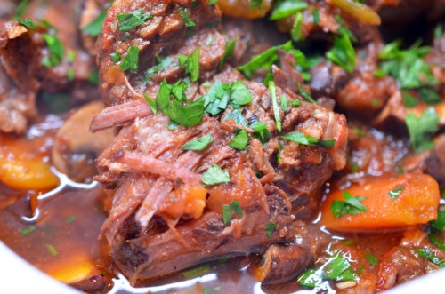 slow cooker beef and tomato stew | For B | Pinterest