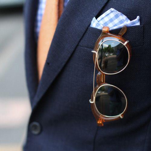 Marvelous vintage inspired sunglasses. #vintage #sunglasses #fashion #menswear