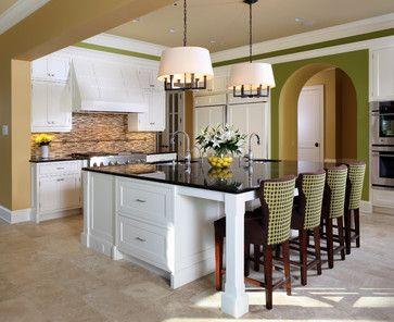 Extra Large Kitchen Island My Dream Home Pinterest