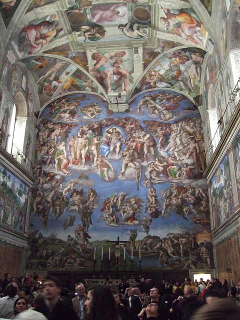 Sistine Chapel last judgement | Michaelangelo | Pinterest