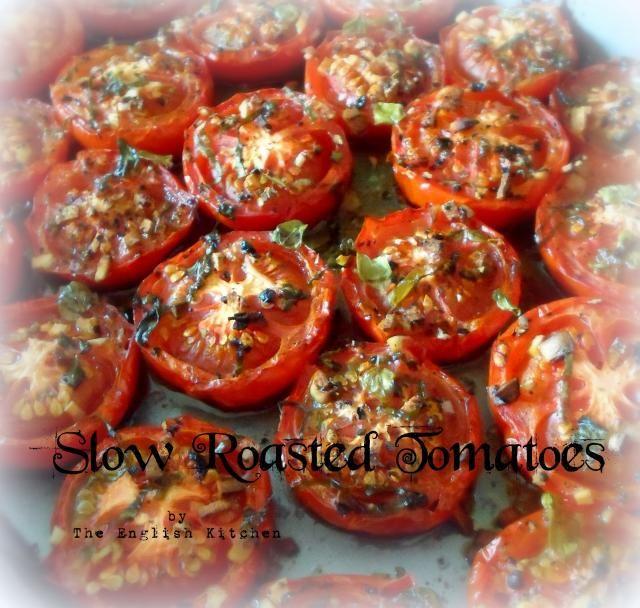 ... The English Kitchen. Roasted tomatoes and roasted garlic mayonnaise