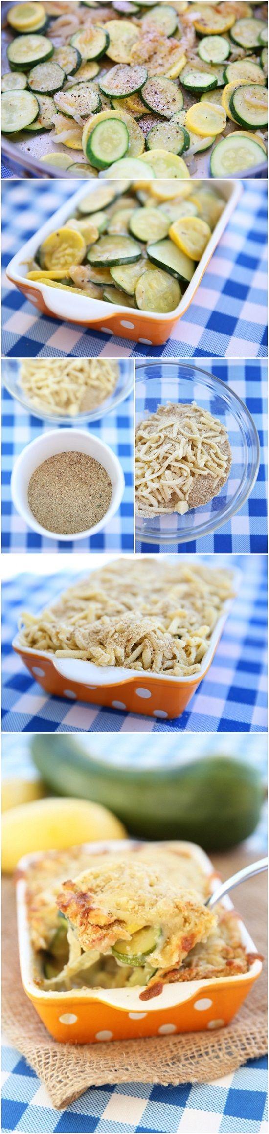 Zucchini Gratin | Gotta try!! | Pinterest