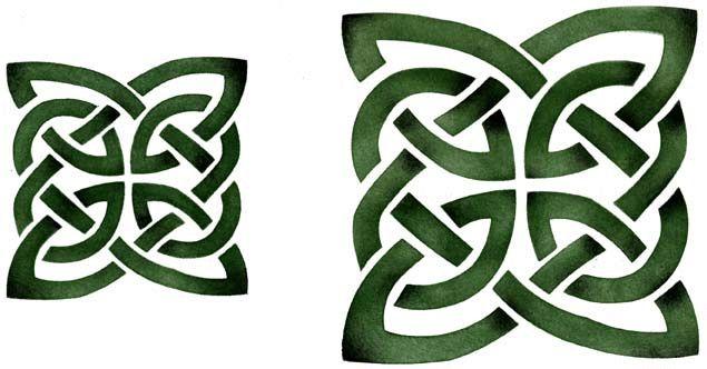 Celtic knot stencil | Stencil Mask | Pinterest