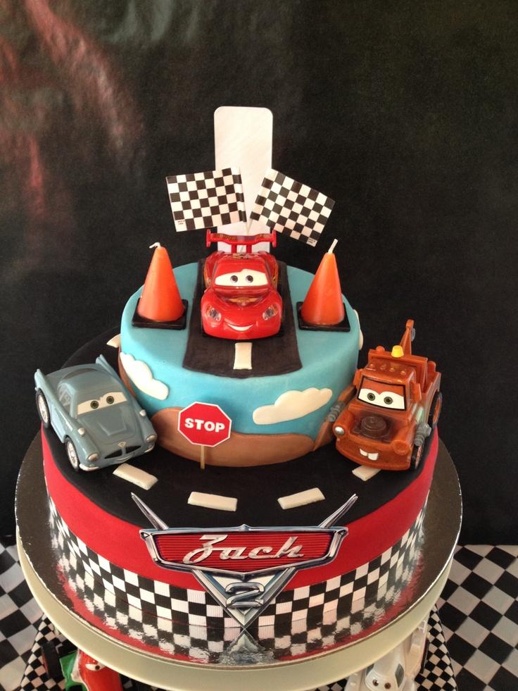 Disney Cars Cake Birthday Cakes Pinterest