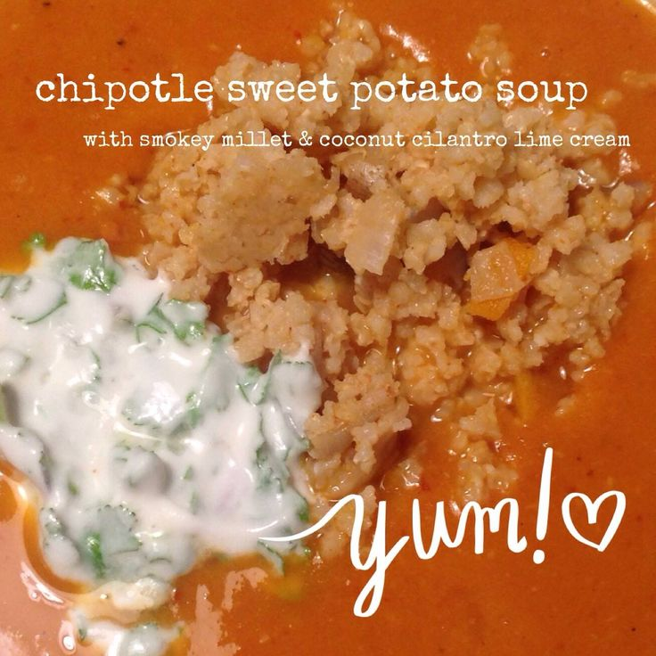Chipotle Sweet Potato Soup | Bowl and Spoon | Pinterest