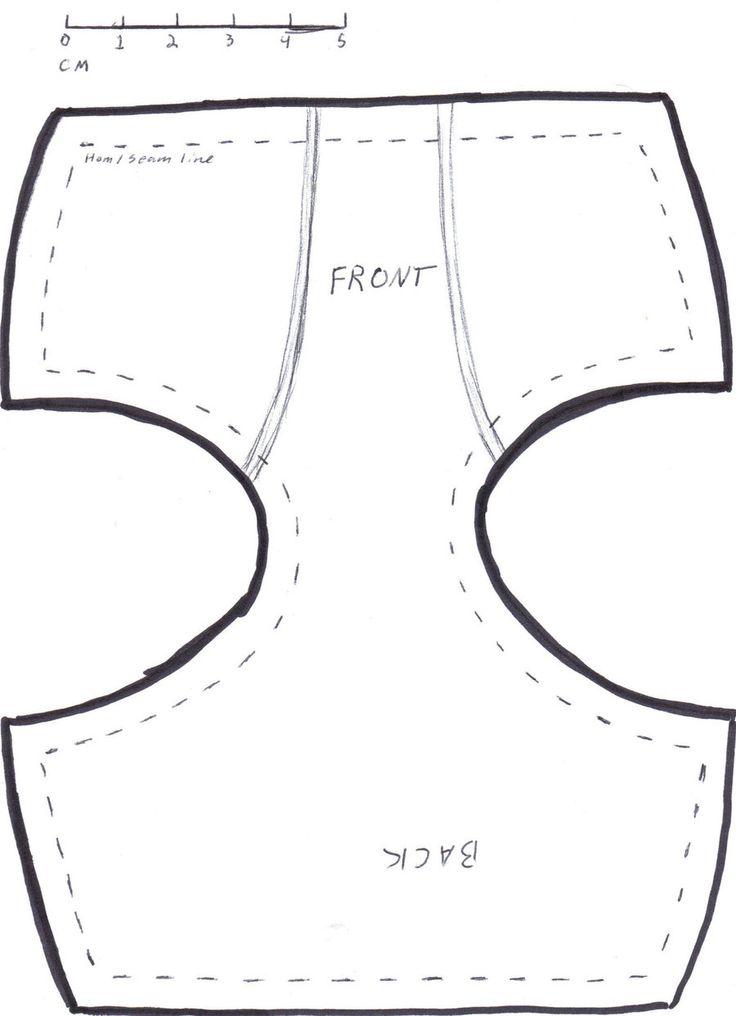 Как сшить для беби бона своими руками шорты 47