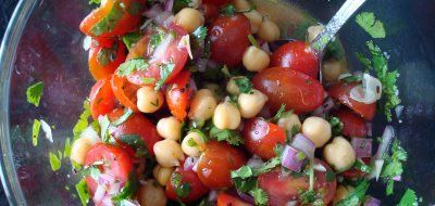 chickpea salad | Making This | Pinterest