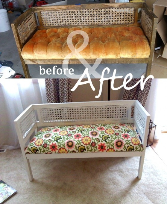 Before After That Original Bench Could Have Been So Easily