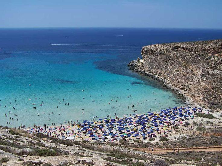 Isola di Lampedusa Island Italy