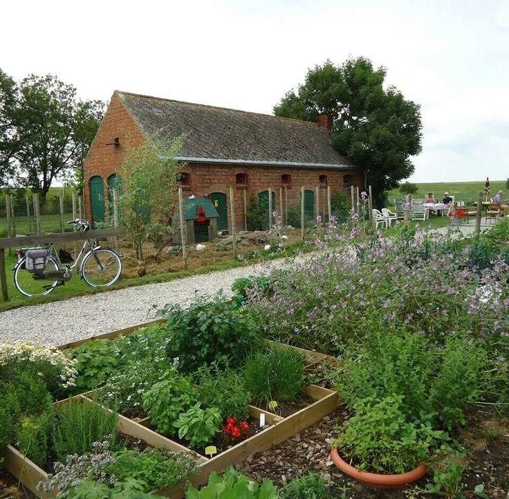 Dutch farmhouse potager pinterest for Farm house netherlands