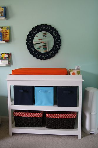 Nursery diy changing table : Diy baby changing table