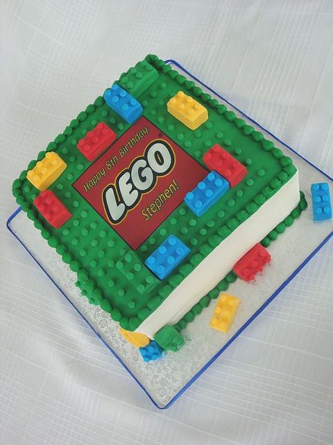 Birthday Cake Ideas LEGO cakes Pinterest