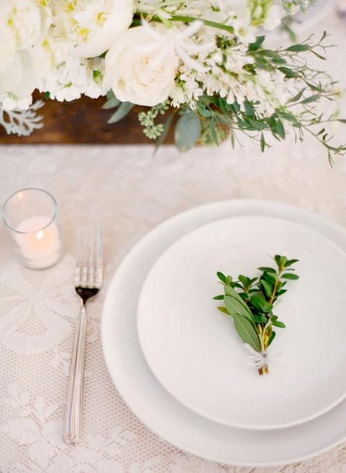 Beautiful Simple Wedding Table Setting The Decoration