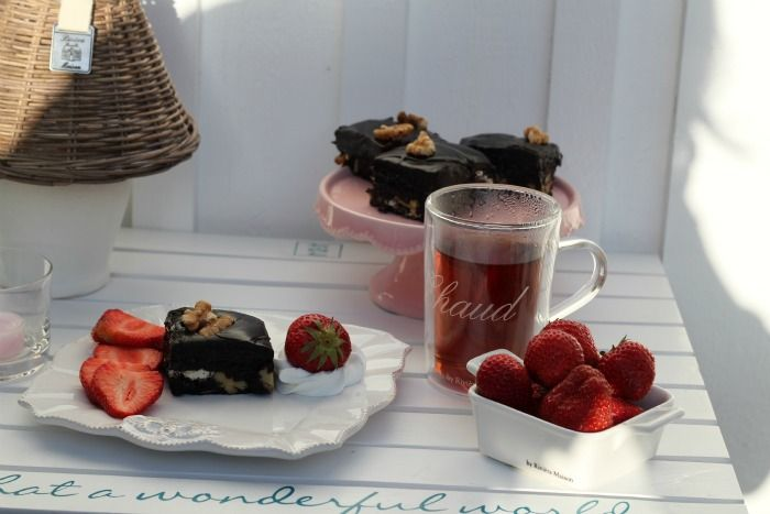 Eggnog Fudge With White Chocolate And Walnuts Recipe — Dishmaps
