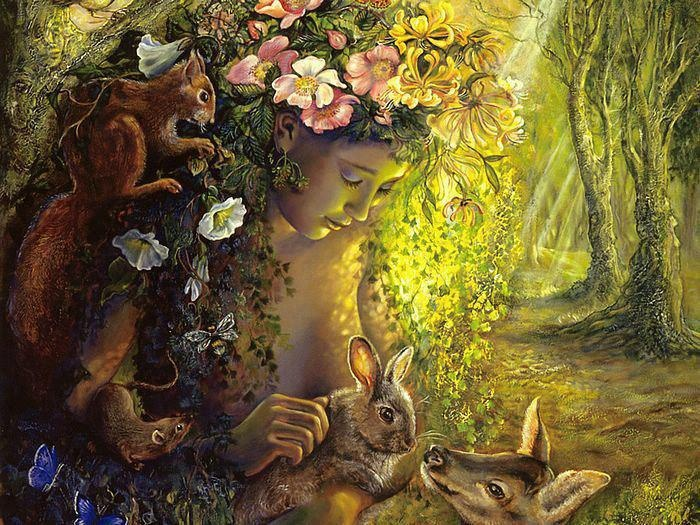 nature the gentlest mother Nature will - that it be night  per gli ultimi due versi ho scelto la versione  originale:  nature keeps / a rank - for iodine -  nature - the gentlest mother is .