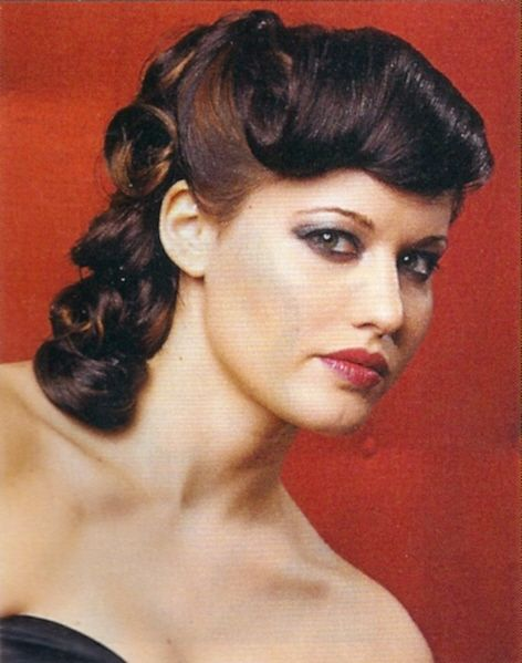 1950s Hairstyles Retro Hair   1950s hairstyle ideas 1950 s ...