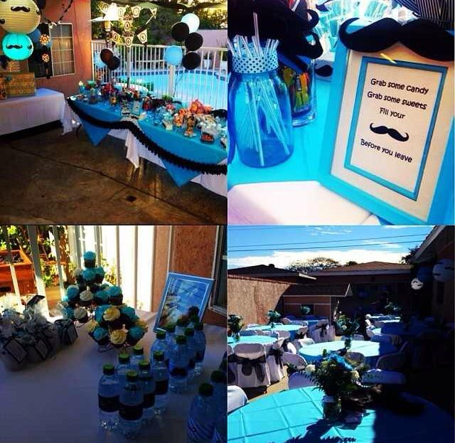 mustache theme baby shower baby shower ideas pinterest